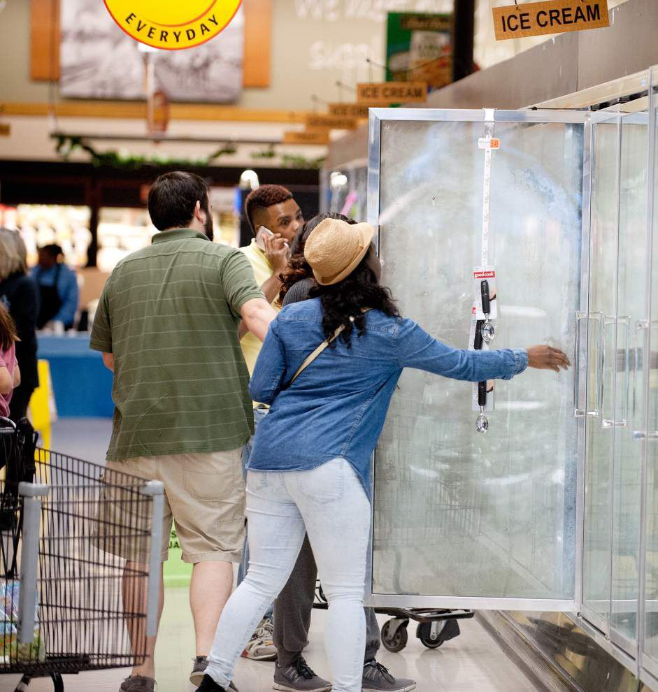Blue Bell ice cream is back in stores in Louisiana, Mississippi _lowres