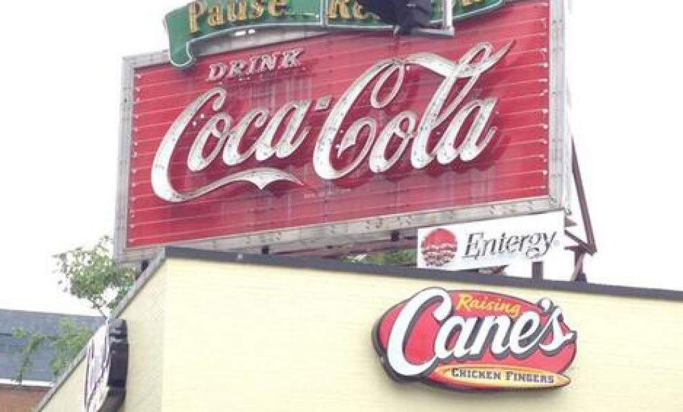 Antique Coca-Cola sign in heart of downtown Baton Rouge to be relighted again under deal mediated by BRAF _lowres