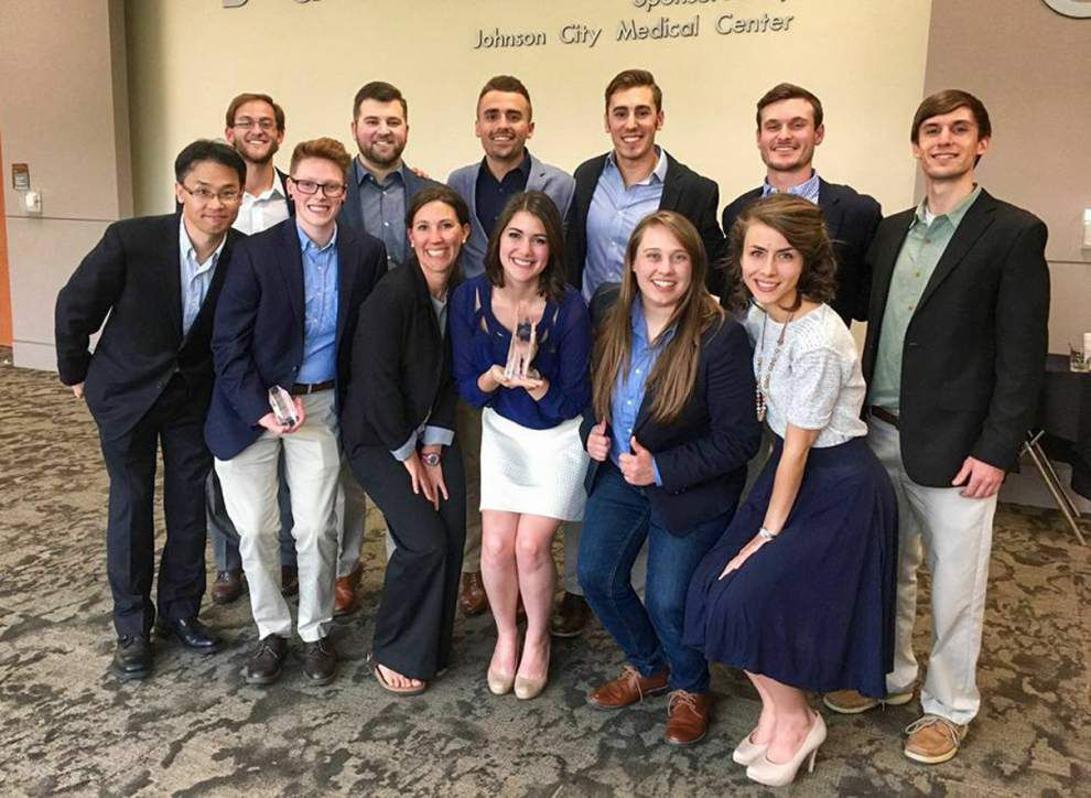 LSU students win regional round of ad competition _lowres