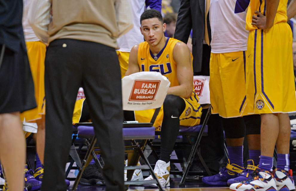 As big as it gets: Ben Simmons, LSU hyped for 'unique,' 'great experience' against No. 1 Oklahoma _lowres