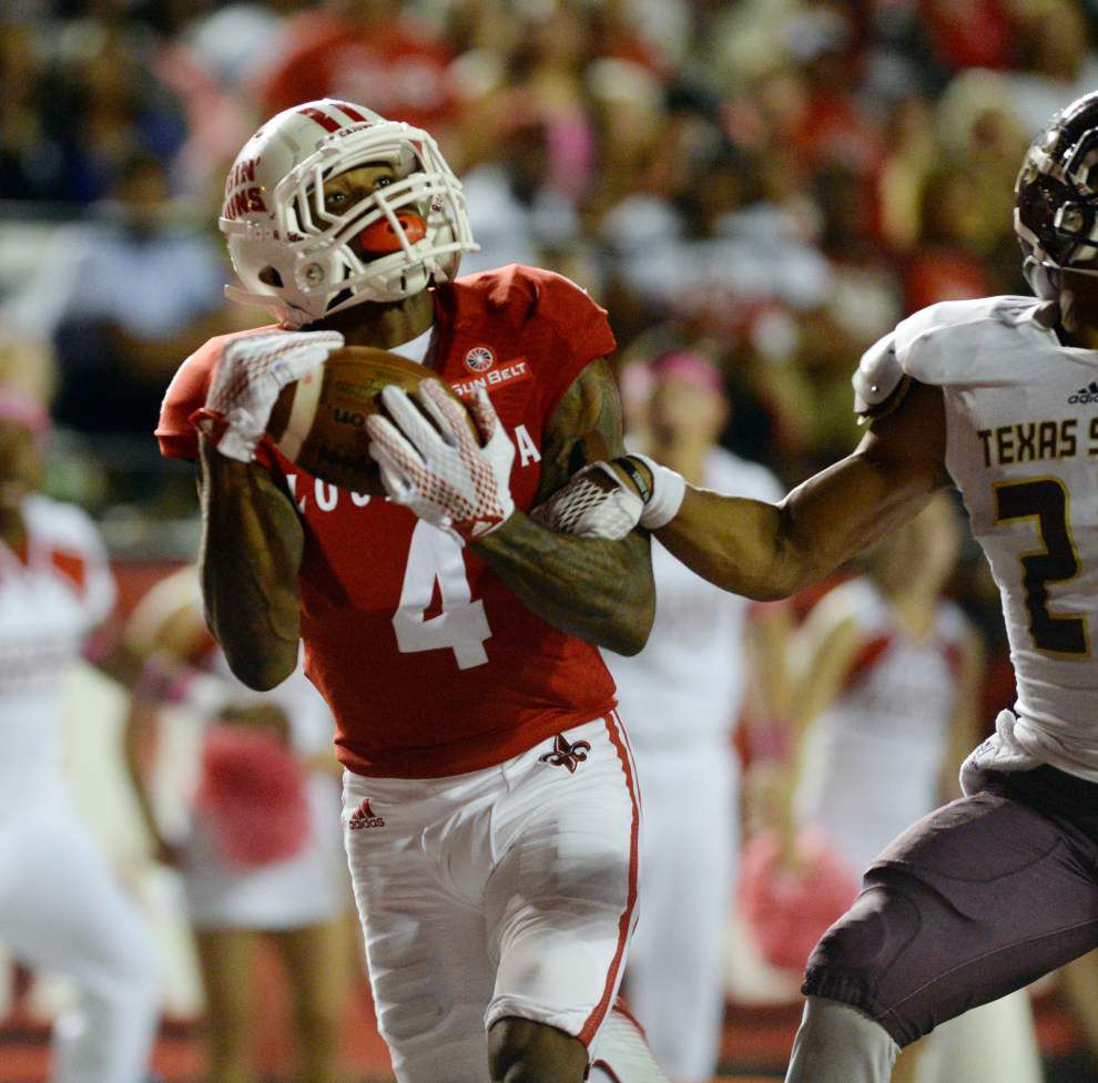 Photos: After slow start Cajuns make strong late push for 49-27 win over Texas State _lowres