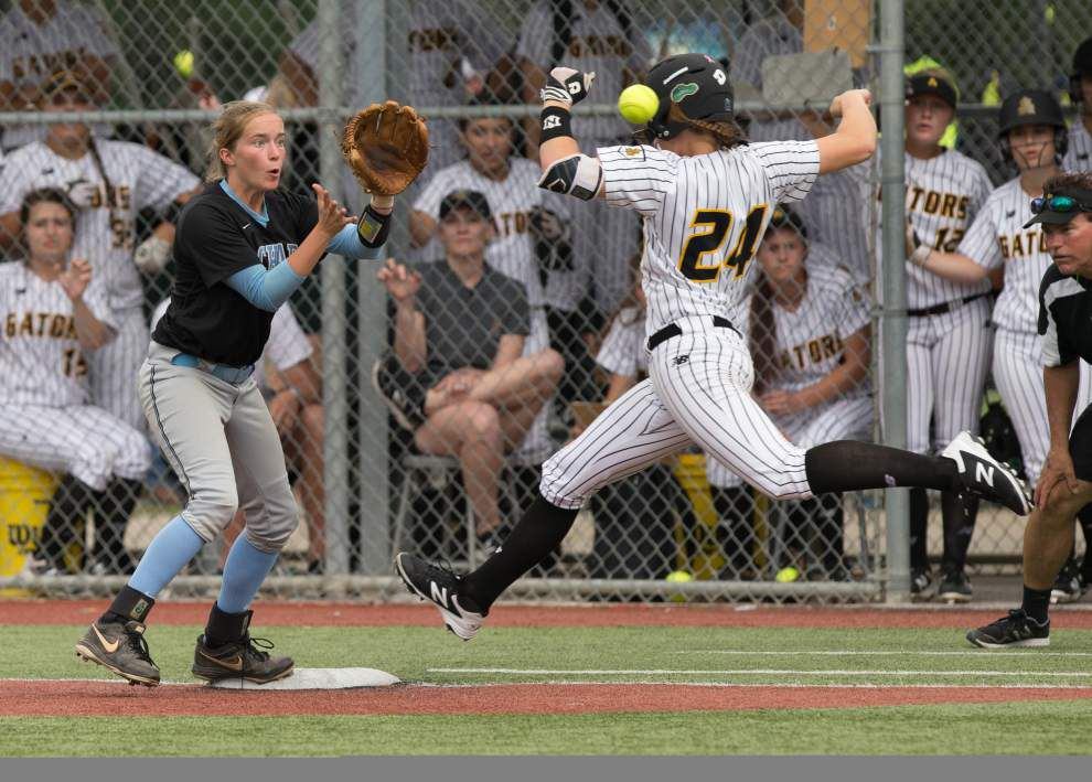 LHSAA state softball tournament: Zachary edges St. Amant; Live Oak also wins in Class 5A _lowres
