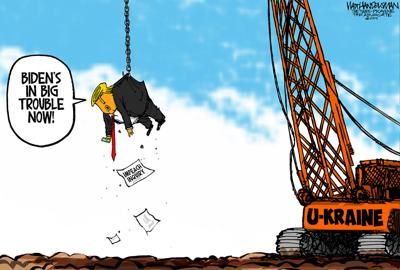 Walt Handelsman: U-Kraine