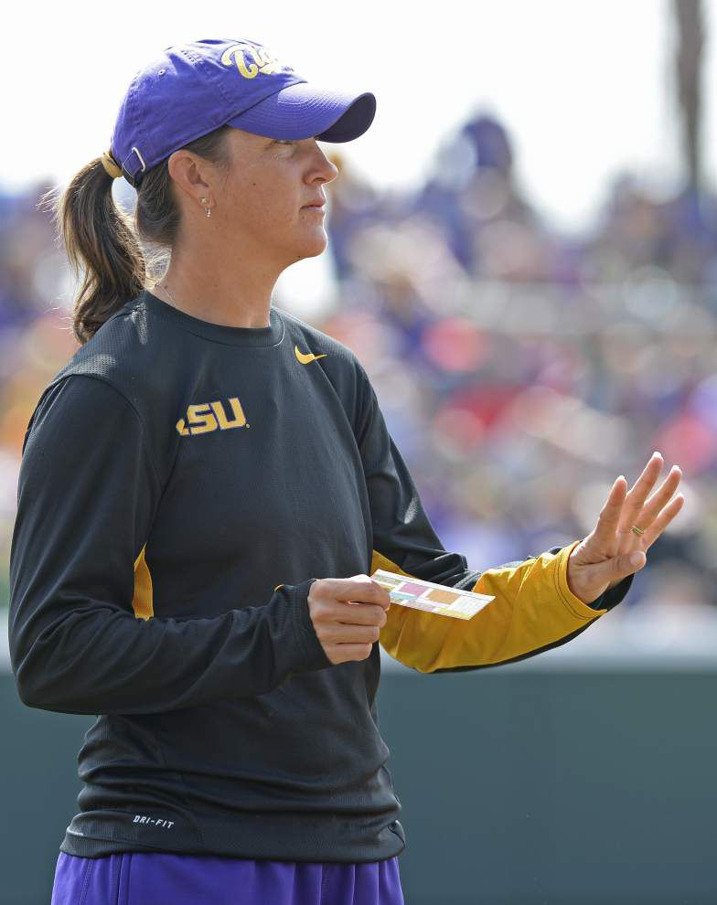 LSU softball team focused on talented McNeese State team, which visits Tuesday _lowres