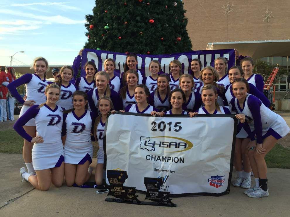 Dutchtown team wins cheerleader titles _lowres
