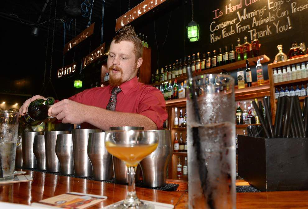 History in the mix: Every drink has a story, and this bartender tells them all at his monthly classes _lowres
