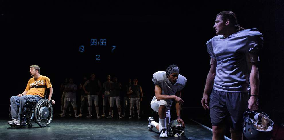 REVIEW: Astounding and complex, Southern Rep's 'Colossal' tackles football, disability, love and family _lowres