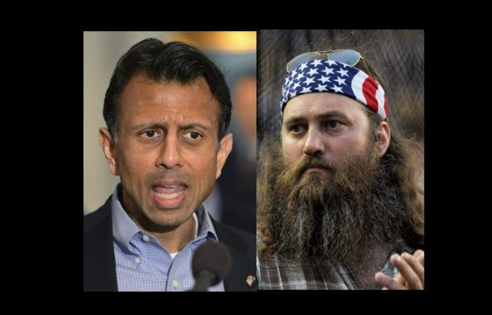Duck Dynasty's Willie Robertson calling on Gov. Bobby Jindal to run for president _lowres