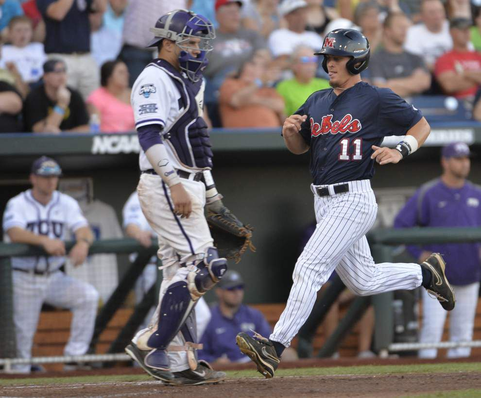 Will Allen leads Ole Miss over TCU in CWS _lowres