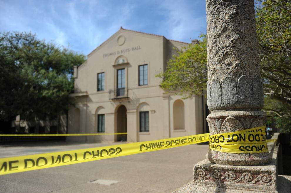 Suspicious package at LSU leads to building evacuation _lowres