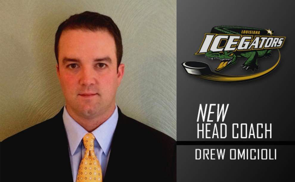IceGators announce hiring of Drew Omicioli as new coach _lowres