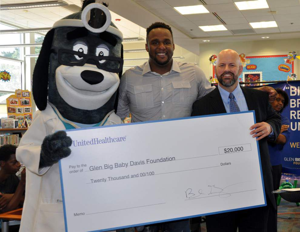 'Big Baby' foundation gets $20K donation for programs _lowres
