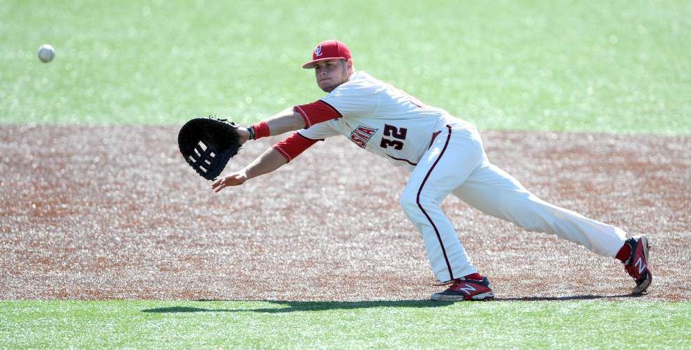 Ragin' Cajuns' Chase Compton enjoys a return to form _lowres