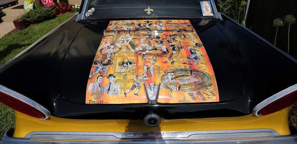 Photos: Saints car _lowres