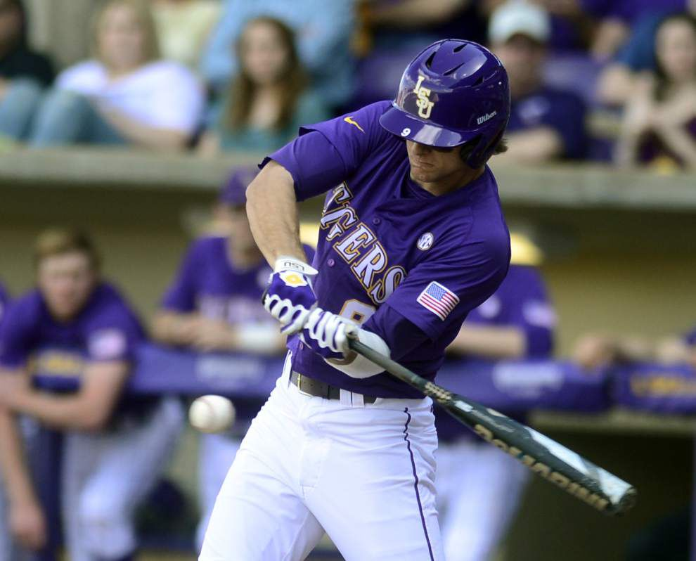 LSU pitching falters in 8-7 loss to Yale at Alex Box _lowres