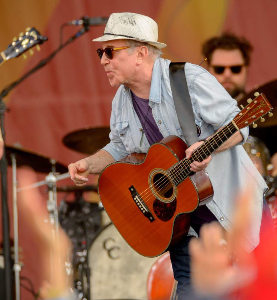Paul Simon fared better with old favorites in uneven 2016 New Orleans Jazz Fest show _lowres