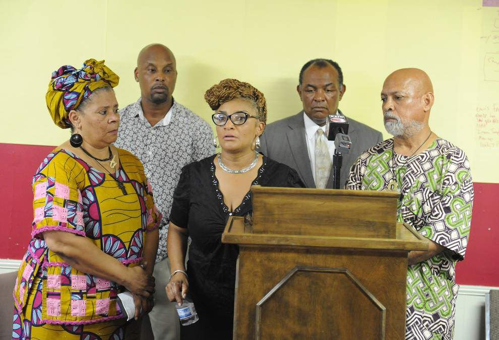 Lafayette black community leaders, residents demand answers in weekend police shooting _lowres