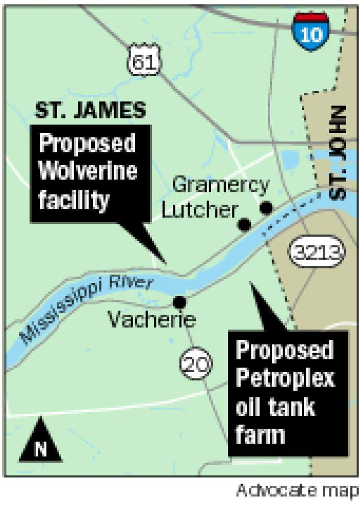 St. James Parish Council OKs oil tank farm, river terminal _lowres