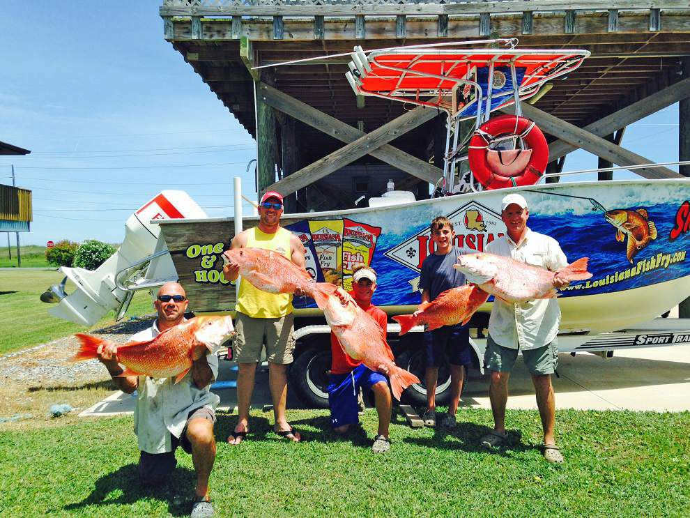 John Langlois keeps strong passion for red snapper despite obstacles _lowres