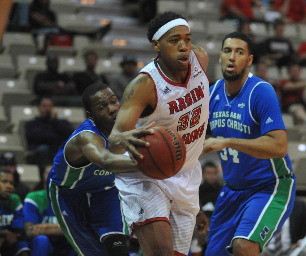 After slow start, Cajuns scorch nets to rout Texas-A&M-Corpus Christi _lowres