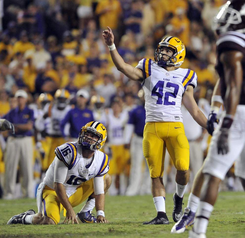 Mississippi State at LSU: How they scored _lowres