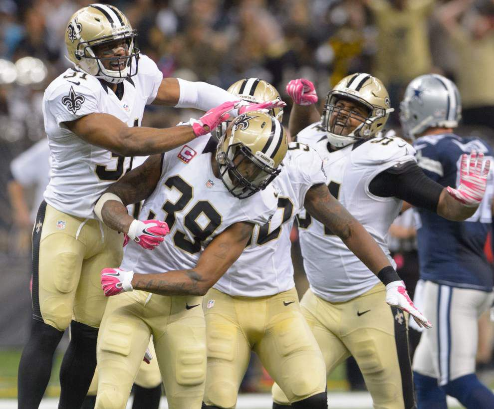 Saints' Sean Payton, Drew Brees say quarterback's shoulder held up well against Cowboys _lowres