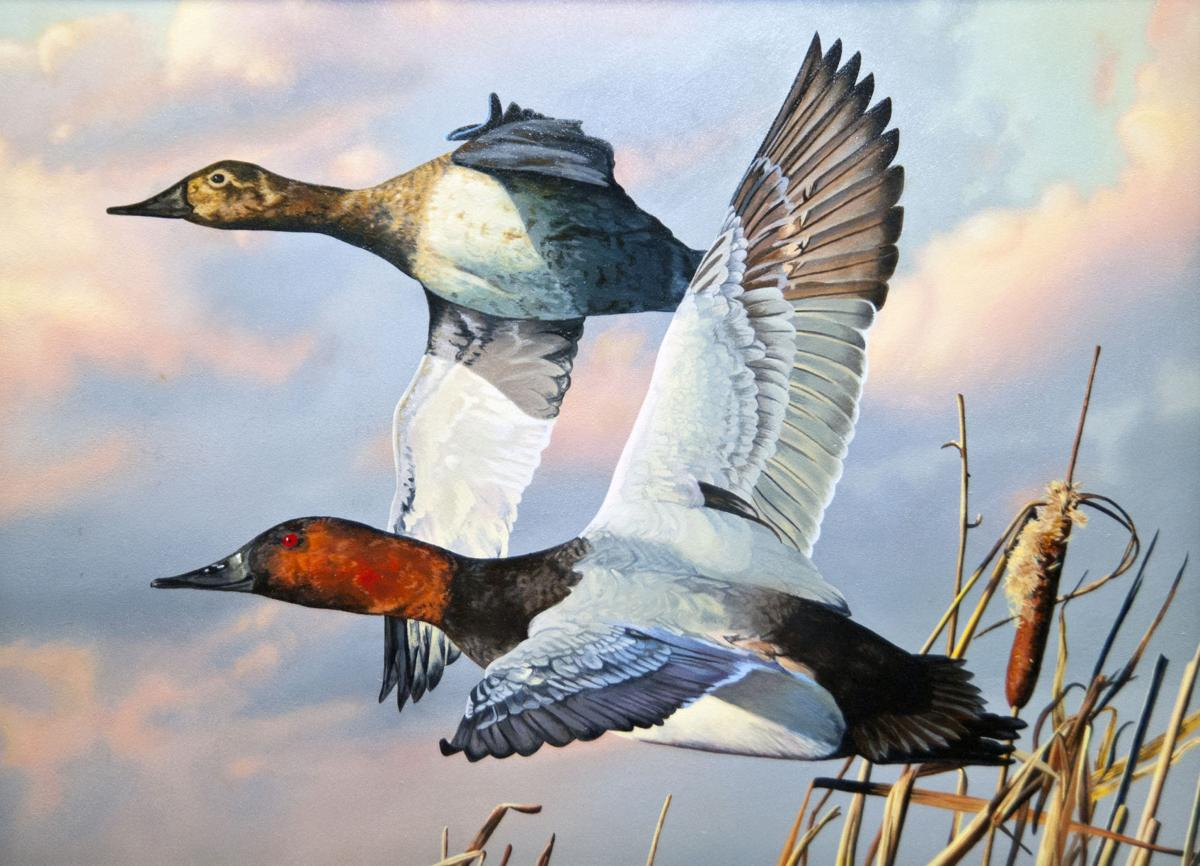 2018 Louisiana duck stamp