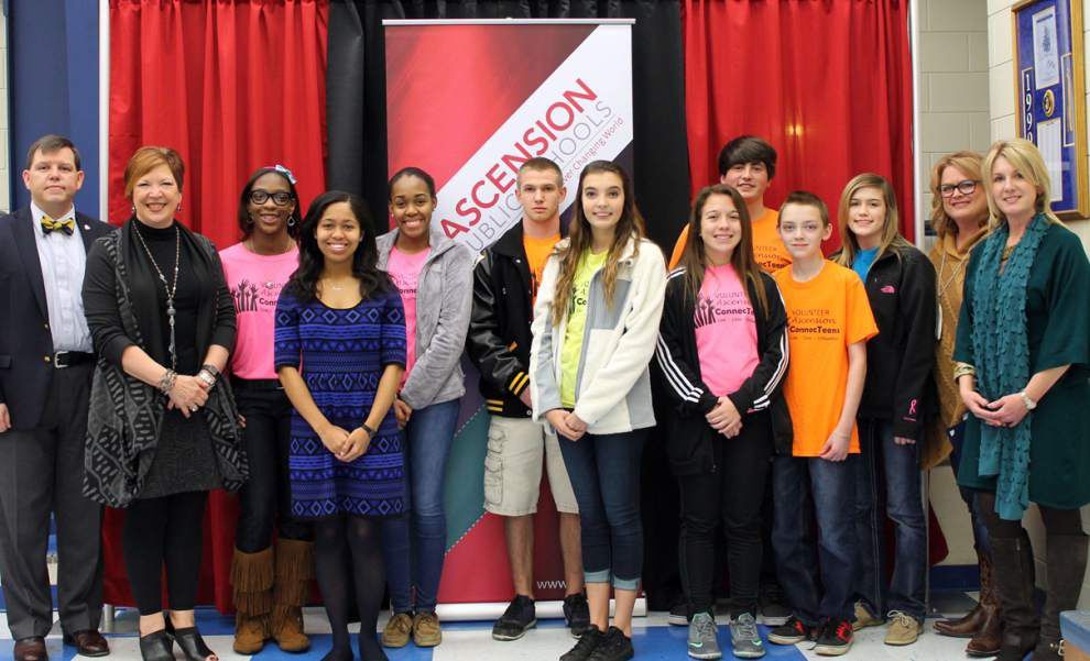 ConnecTeens honored by Ascension School Board _lowres