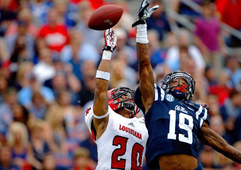Dominick Jones becomes valuable jack of all trades in Cajuns secondary _lowres