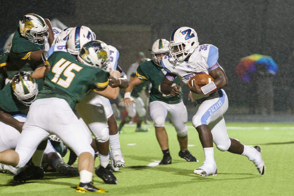 Baton Rouge area top 10 football polls: Zachary tops Classes 5A-4A, U-High leads Classes 3A and below _lowres