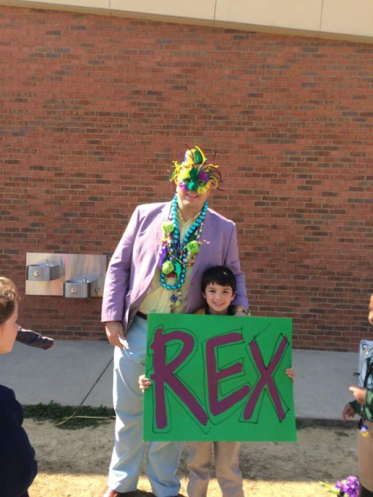 Third-graders parade as Krewe du TV _lowres