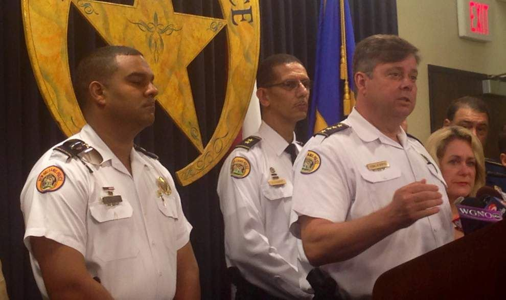 NOPD arrests two in Lower 9th Ward drive-by shooting _lowres