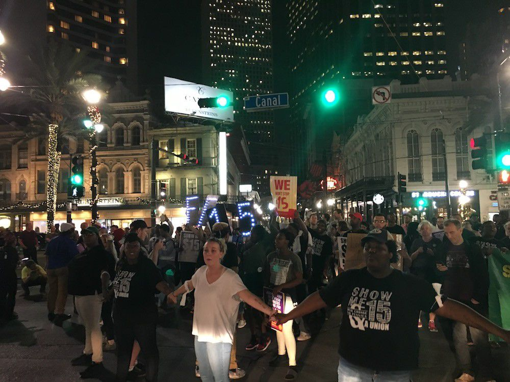 The fight for $15 an hour in New Orleans_lowres