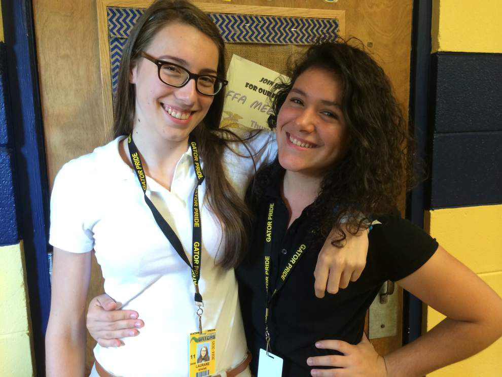 St. Amant High gets exchange students _lowres