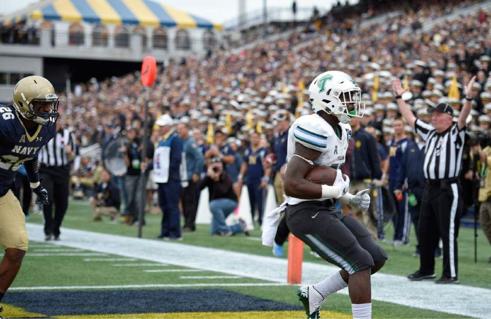 Ground and pound to hang around? Tulane faces tall order Saturday at No. 16 Memphis _lowres