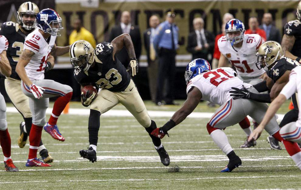 Source: Saints running back Marcus Murphy might miss multiple games with ankle injury _lowres