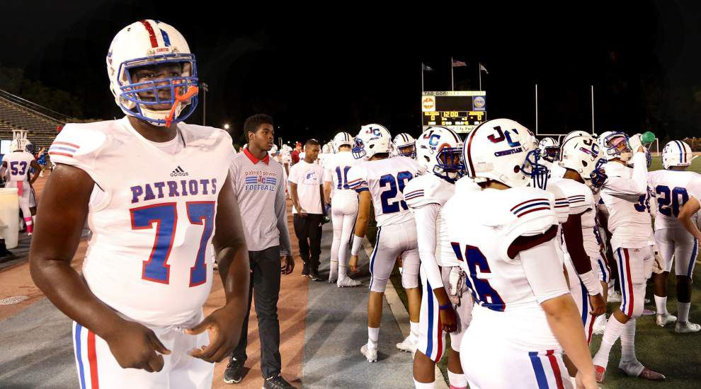 Rod Walker: With a little help from his big family, John Curtis' Willie Allen is bound for LSU _lowres
