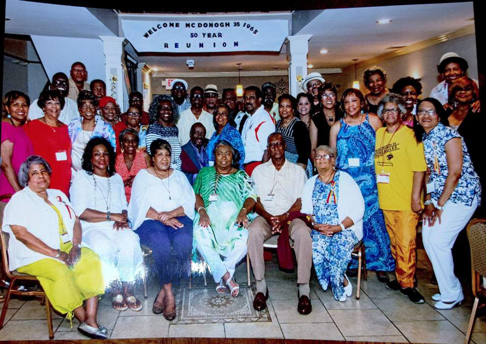 McDonogh 35 High School Class of 1965 marks 50 years _lowres