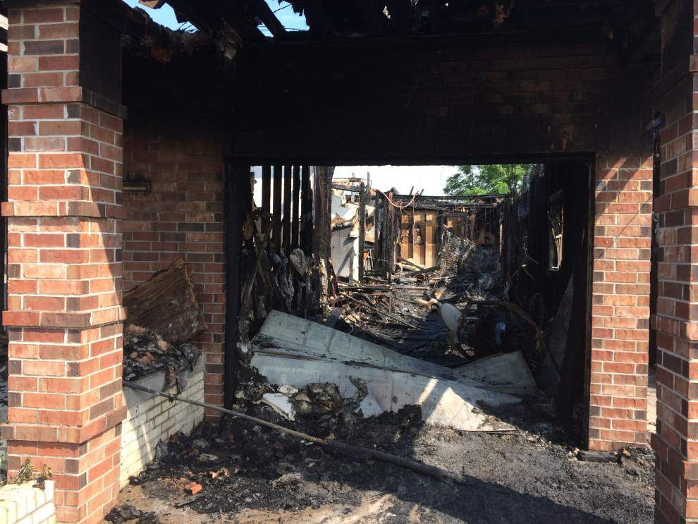 Elderly wheelchair-bound man dead in three-alarm fire at Central City home early Thursday _lowres