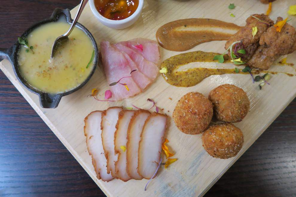 Charcuterie of the sea: turning the tables on the meat board, New Orleans chefs cast seafood in new light _lowres