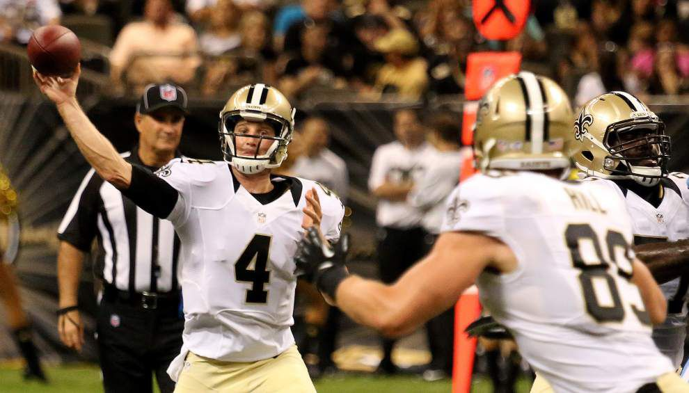 Former Saints QB Ryan Griffin signs with Tampa Bay; Stanley Jean-Baptiste moves on to Detroit _lowres