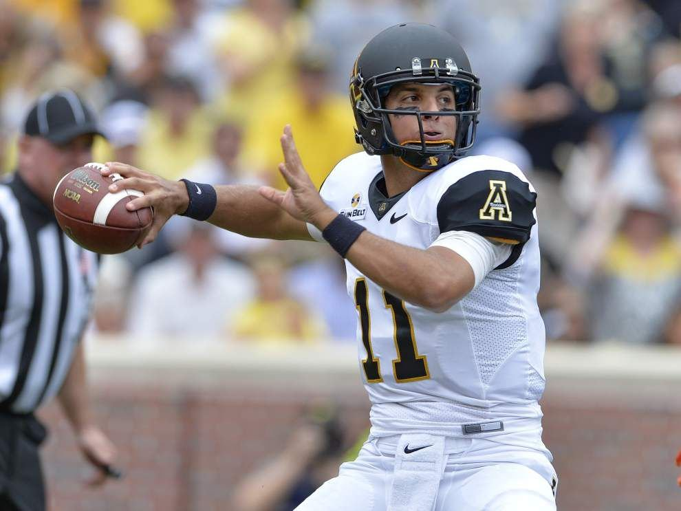 Get to the Next Level for the Ragin' Cajuns-Appalachian State game: Find out where the Mountaineers will pose problems _lowres