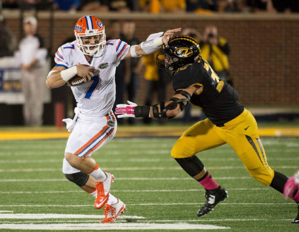 Report: Florida starting QB suspended for season; Gators play LSU on Saturday _lowres