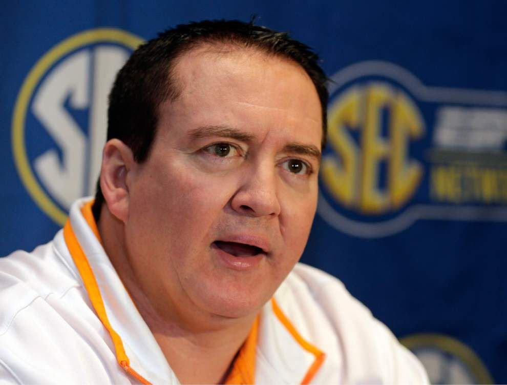 Video: Tennessee men's basketball coach Donnie Tyndall has fond memories ofhis days at LSU _lowres