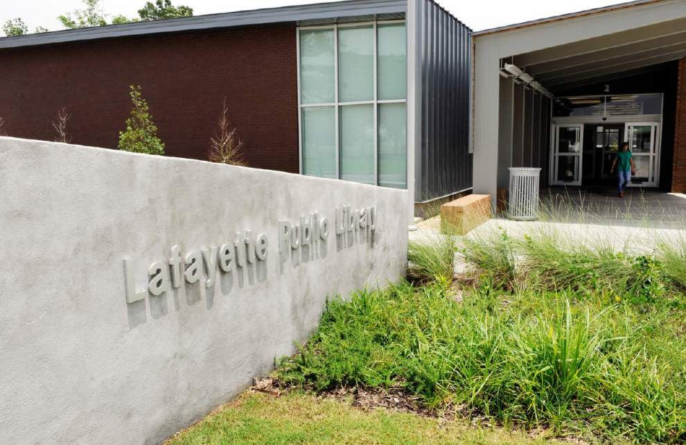 Patrons flocking to new East Regional Library in Youngsville; main library in Lafayette to reopen Monday _lowres