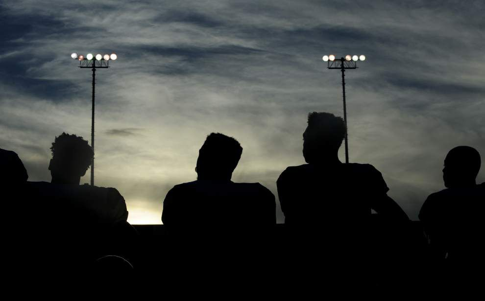 Photos: Parkview stiff arms Catholic, U-High falls to Rummel as Friday night football returns _lowres