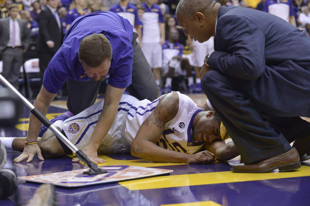 LSU's Malik Morgan (knee) out for the season _lowres