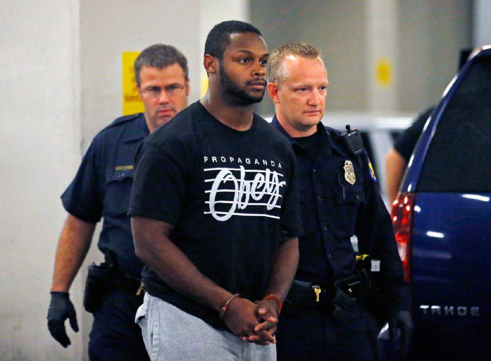 Police say Cardinals tailback Jonathan Dwyer head-butted his wife _lowres
