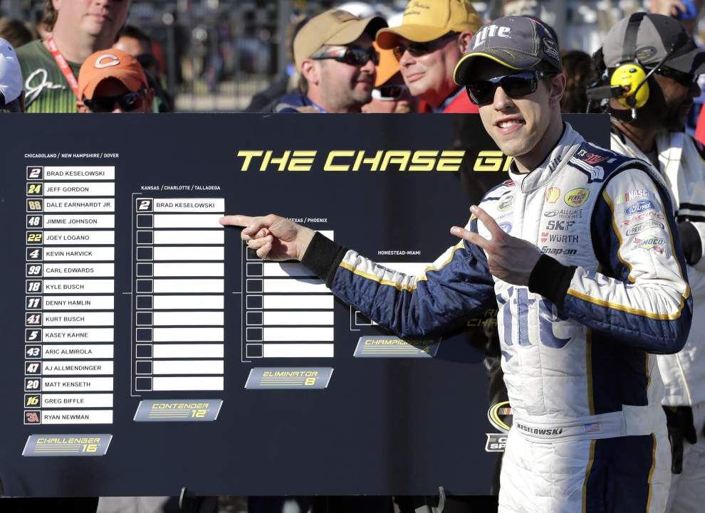Brad Keselowski wins Chase opener _lowres