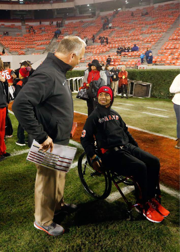 Southern's Devon Gales returns to embrace Georgia 'family' _lowres